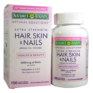Nature's Bounty Hair, Skin and Nails